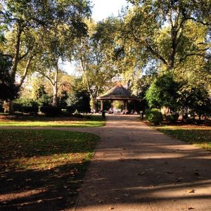 Not really relevant but a photo of how beautiful London was today - Lincoln's Inn Fields.