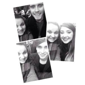 Selfie's with Alfie, Zoe and Joe!