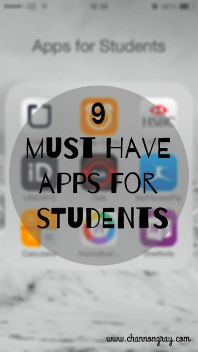 9 Must Have Apps for Students, read more here.