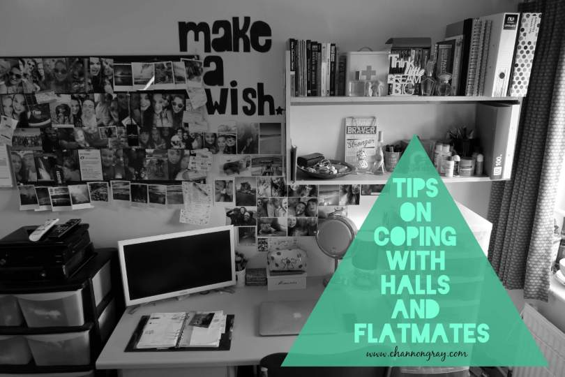 Tips on coping with university halls and flatmates!