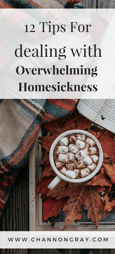 Homesickness can be overwhelming, frustrating, upsetting and it can hinder your time at university, college or away from home. I have tips to get you through! #Homesickness #University #StudentLife - www.channongray.com // heythereChannon