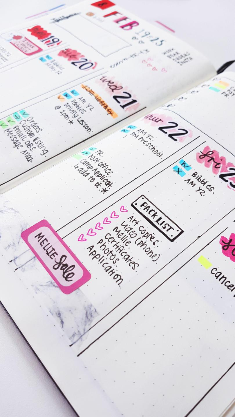 Simple Bullet Journal / Bullet Journalling made simple - how to set-up a simple, effective, organised bullet journal that will suit your personal planning needs - Stationery // heythereChannon