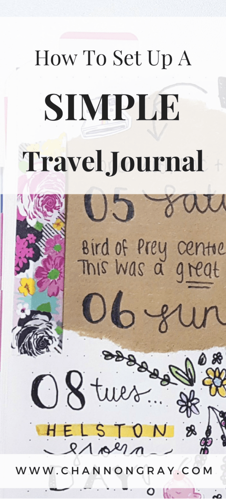 Writing about your adventures in a travel journal is a way to store memories, reflect on experiences and further your passion for travelling more once your current-plans draw to an end. Bullet Journalling is a useful tool for jogging your memory, finding self-love and growth into a life of more wellbeing and mindfulness. It's a creative outlet that can be taken everywhere you might be. For more Travel Journal ideas, check out my blog - www.channongray.com // heythereChannon
