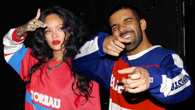 Image result for rihanna and drake