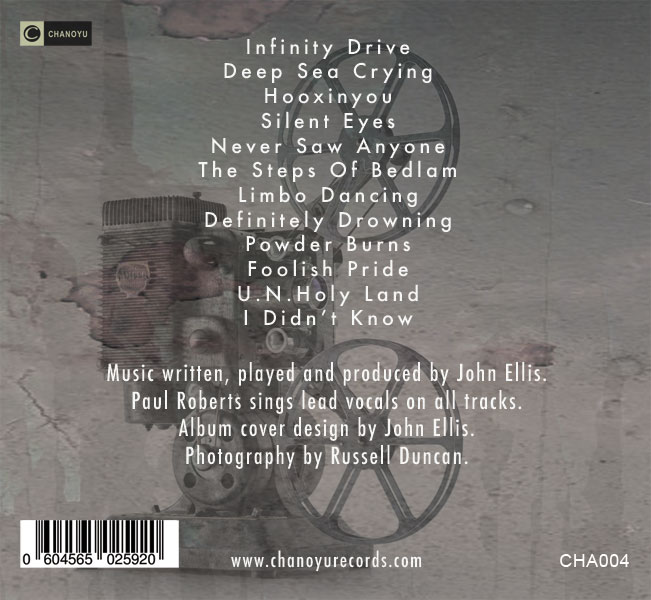 Back Cover Track List