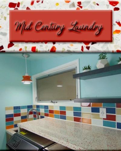 Mid Century Modern Laundry