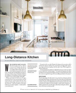 Kitchen, KBB Magazine, Press, Bowie MD, Virginia, Washington DC, , interior designer