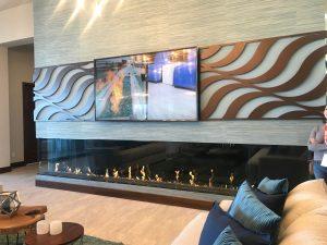 KBIS, Fireplace