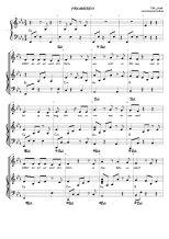 Probieren PIANO notenblatt
