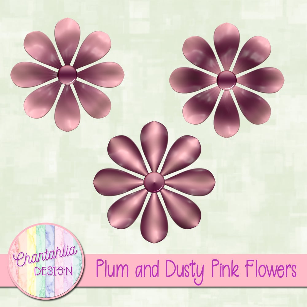 Plum and dusty pink flowers chantahlia design plum and dusty pink flowers mightylinksfo