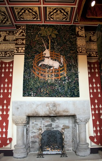 This is a replica of the famous tapestry. The original is in the Cloisters in NYC.