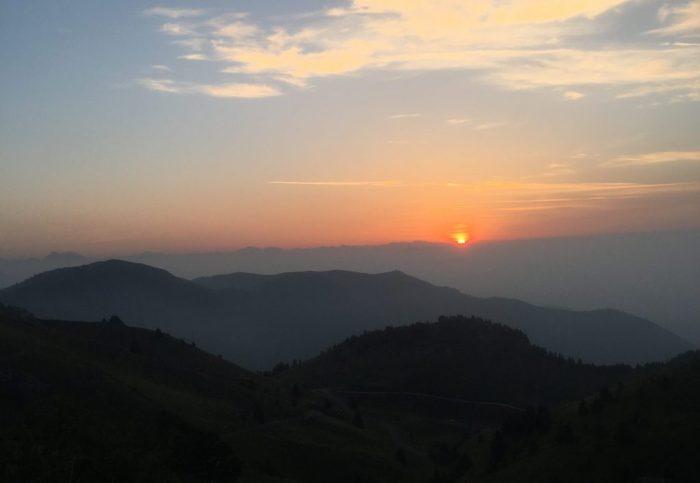 Sunrise at Monte Grappa