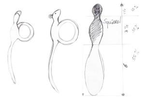 Animal-pens Sketch