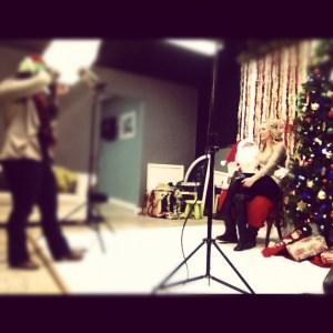 waterloo photographer, in waterloo, santa claus pics, christmas,