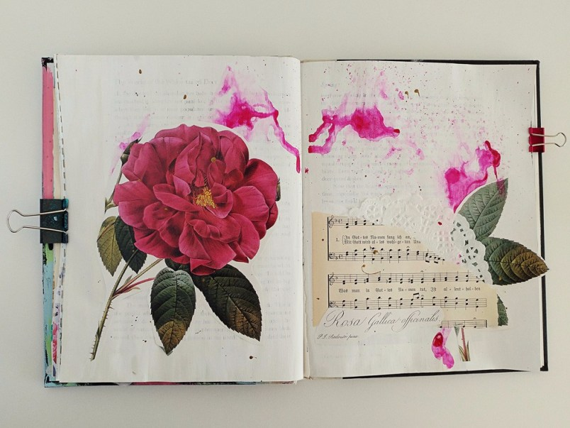 Art Journaling 101 - a free e-course introduction to art journaling
