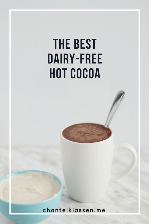 The Best Dairy Free Hot Cocoa