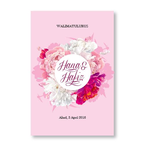 Kad Kahwin Floral 29