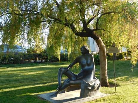 Chateau Peju 酒庄花园雕像