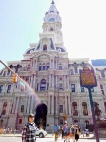 市政厅外正面。