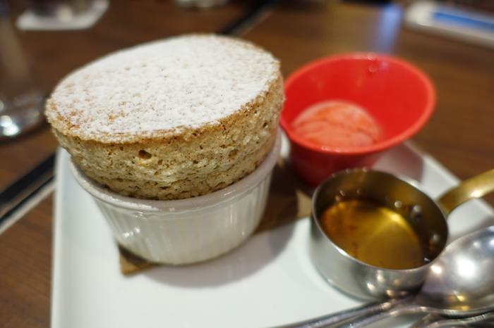 【食記】Caldo Cafe 咖朵咖啡.每日限定口味的舒芙蕾 @忠孝復興站