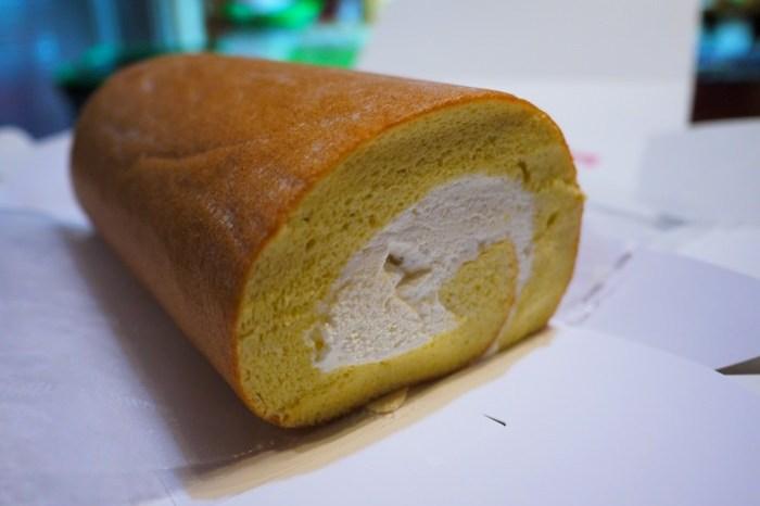 【甜點】法朋烘焙甜點坊 Le Ruban Pâtisserie.半個月前就預訂的鮮奶油蛋糕捲
