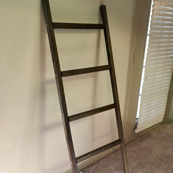 How to Make a Blanket Ladder for Only $20!!