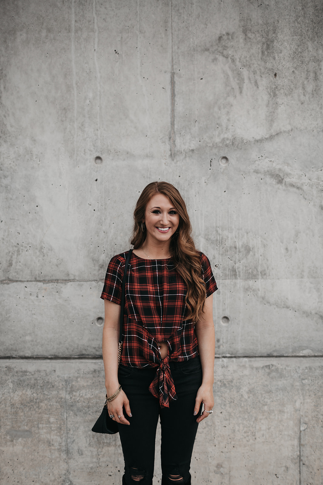 Red and Black Plaid for a Cool Fall Day | Chaos and Coffee-9081