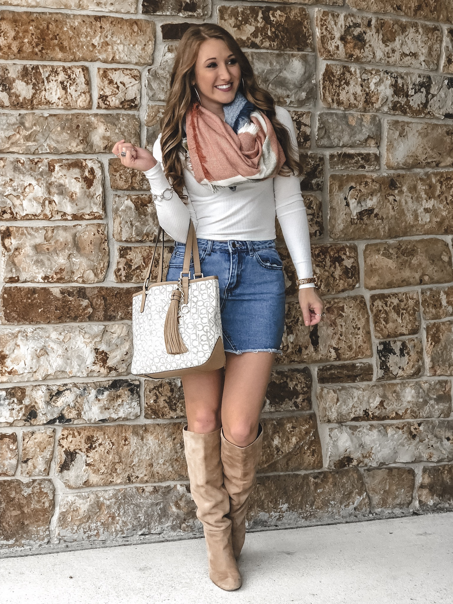 Favorite Fall Scarves Under $30 | Chaos and Coffee