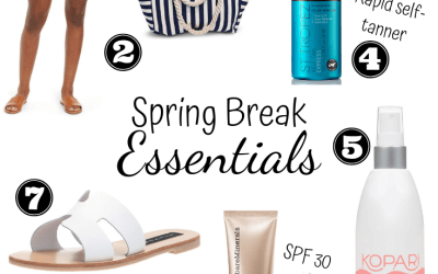 Spring Break Essentials | Chaos and Coffee