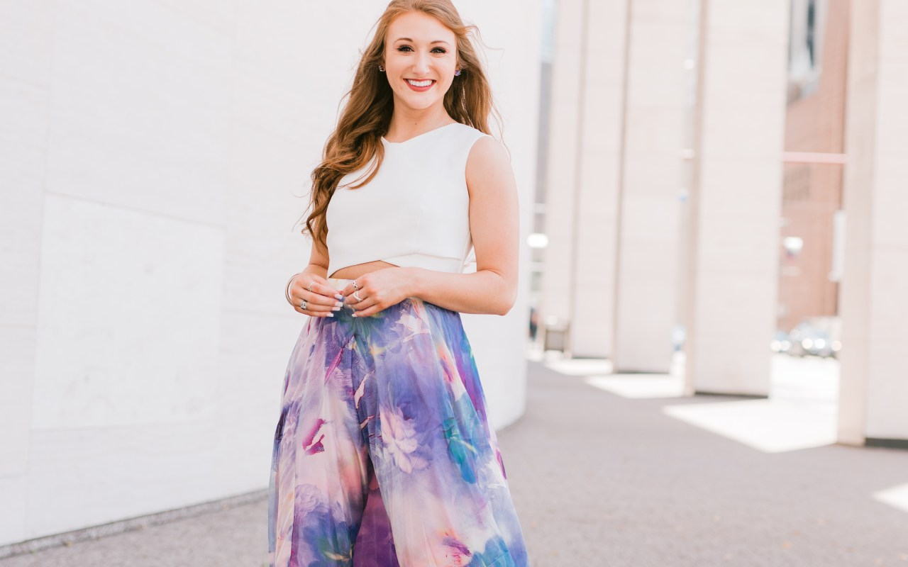 A Flowy Skirt for Any Occasion | Chaos and Coffee