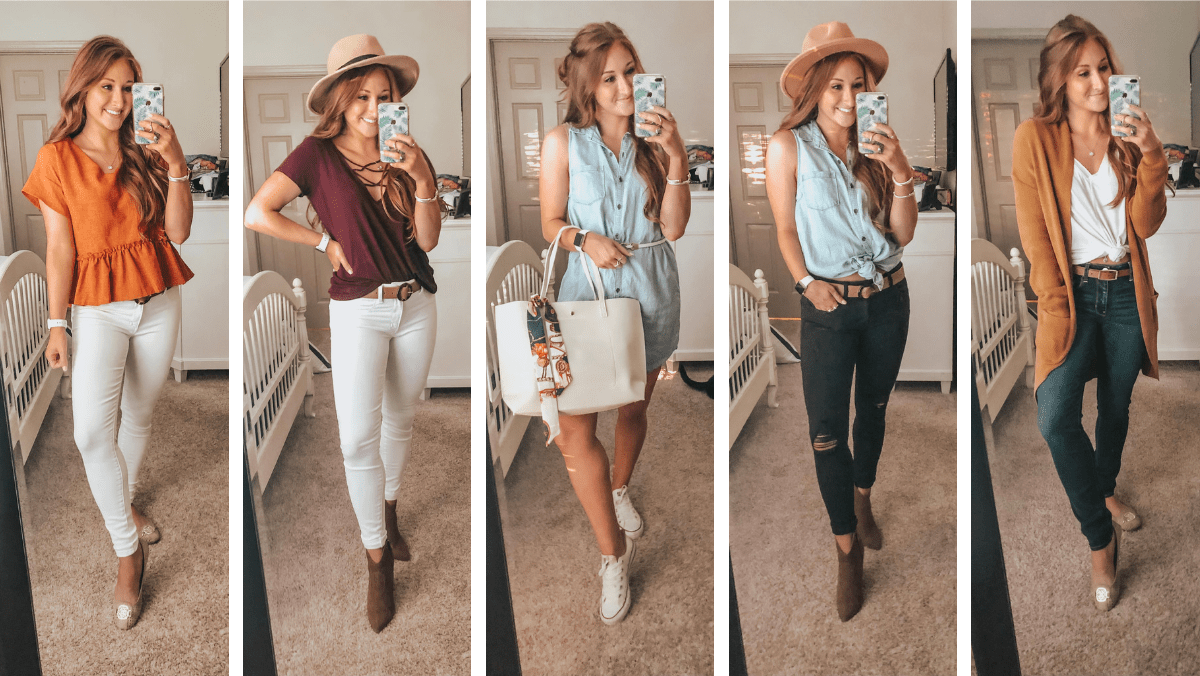 Back to School Outfits for Everyday of the Week | Chaos and Coffee