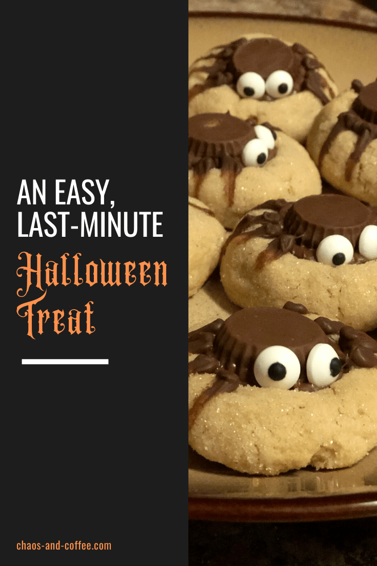 An Easy, Last-Minute Treat for Halloween | Chaos and Coffee