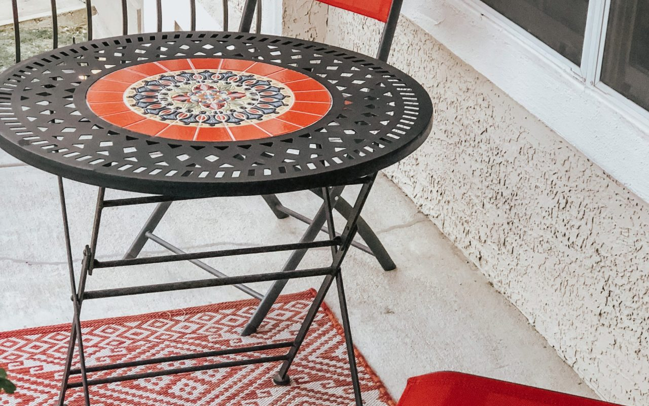 Home Reveal: Patio   Chaos and Coffee