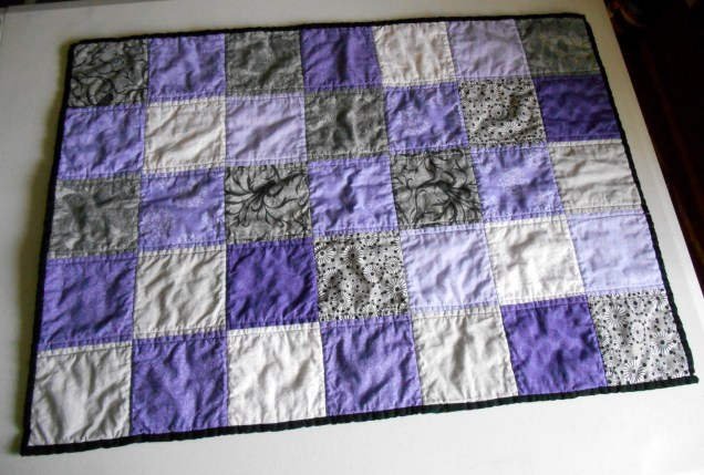 My First Quilting Commission