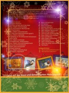 Was ist auf der Weihnachts-DVD der Maus?