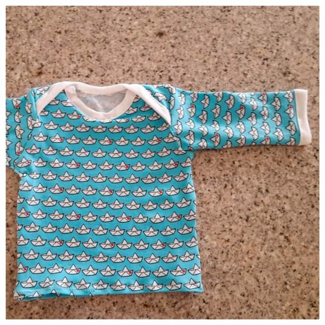 Babyshirt nach Farbenmix Zwergenverpackung Basic