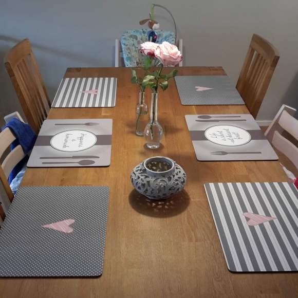 Tisch in rose