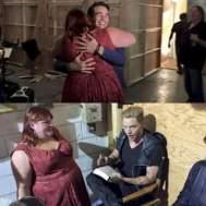 Cassie mit Alberto als Simon und Dominic als Jace.