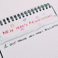 Late New Year's Resolutions.