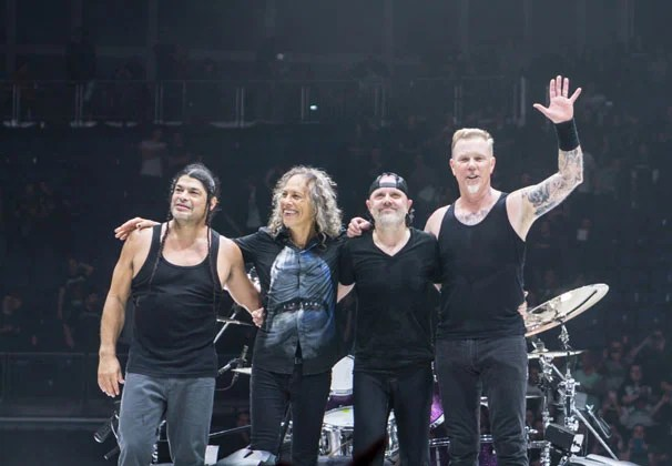 Lars Ulrich Metallica's longevity and incredible commercial success 38 years
