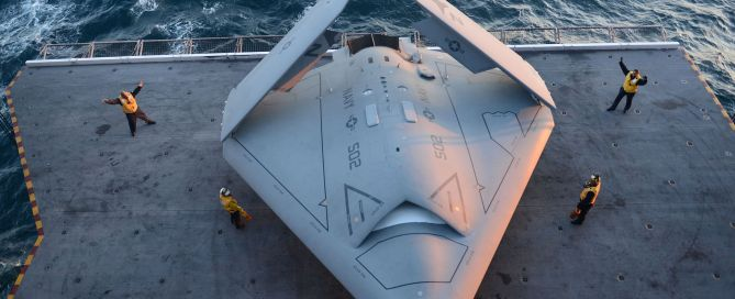 rogue X-47B Drone