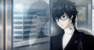 Persona 5 staring out window