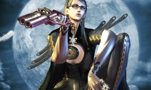 Bayonetta looking sexy