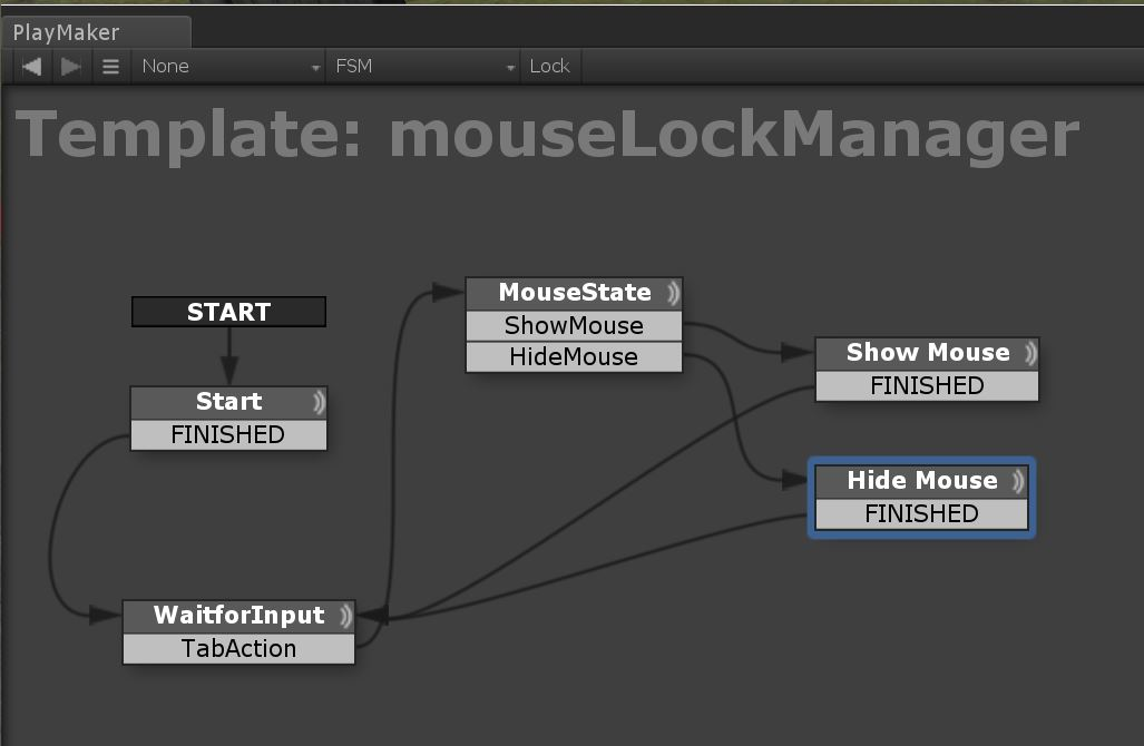 Learning Together: Unity3d and Playmaker MouseOver State