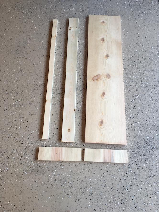 Board Cornice Wooden Fit