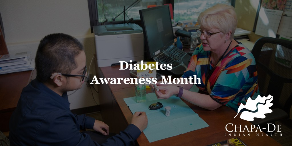 Diabetes Month Chapa De Indian Health Care Auburn Grass valley