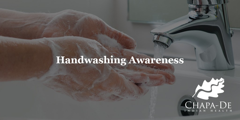 Handwashing Awareness Month Chapa de Auburn grass Valley