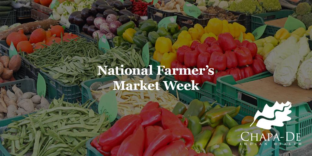 National Farmer's Market Week