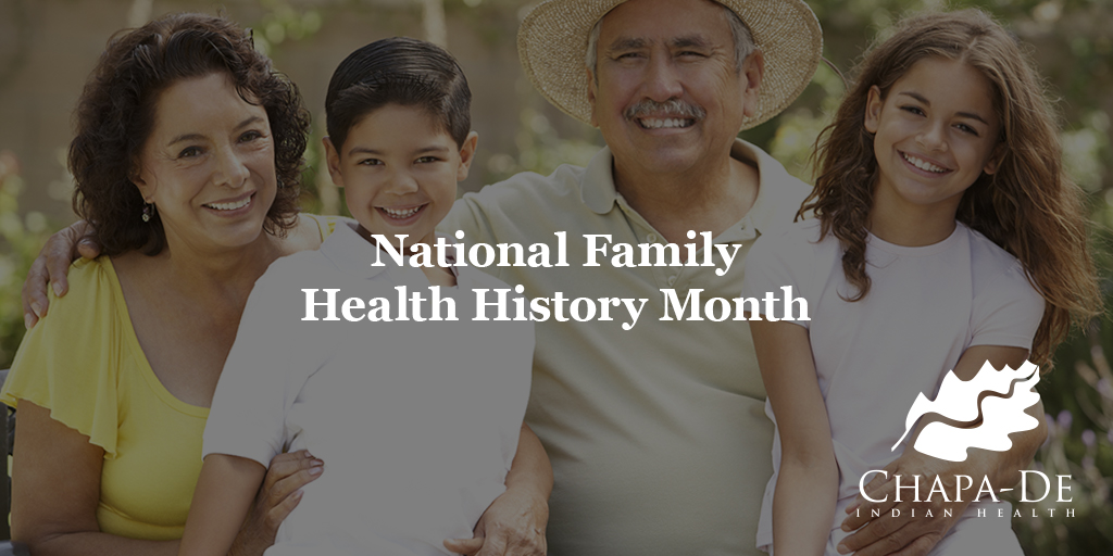 National Family Health History Month Chapa De