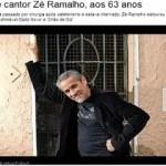 Site oficial do MSN Brasil divulga morte equivocada do cantor Zé Ramalho
